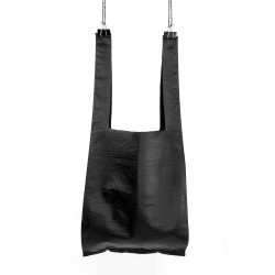 Fake Leather Shopping Bag