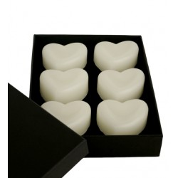 Set 6 Heart Soap Rose Valentin